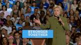 "Clinton: RNC and Trump speech ""perversely flattering"""