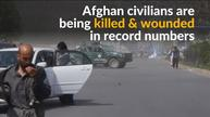 Afghan civilians being killed in record numbers, says UN