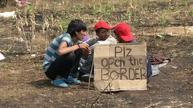 Hunger strike on the Hungarian border