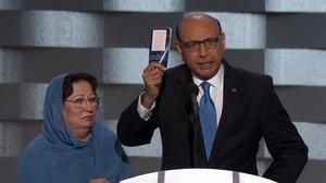 Father of slain Muslim American soldier: Trump has