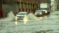 Brooklyn roads flooded after storm