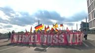 Far-right take to street of Berlin saying