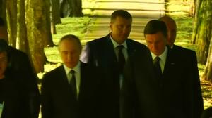 Putin tours Slovenia in effort to ease EU sanctions
