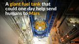 Building NASA's rocket fuel tank in 60 seconds