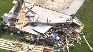 Tornadoes leave trails of destruction in Indiana
