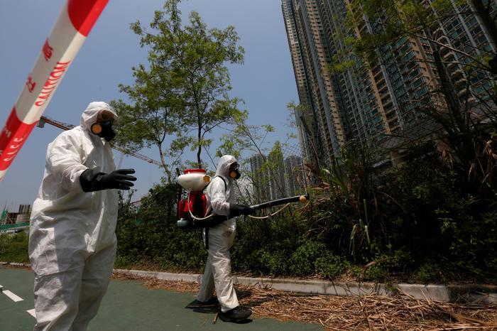 Hong Kong on alert as first case of Zika is confirmed