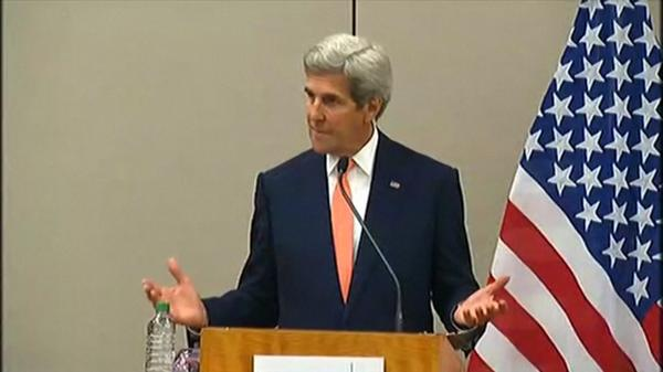 """A few narrow issues"" remain with Syria talks: Kerry"