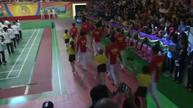 China's Olympic medallists play for Hong Kong crowds