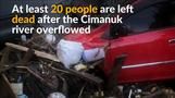 Flash floods in Indonesia kill 20