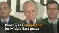 Israel's elder statesman, Shimon Peres, dies at 93