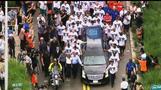 Marlins fans, teammates bid farewell to Fernandez