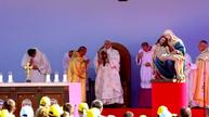 Pope leads mass in Tbilisi