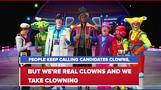 Circuses respond to U.S. election 'circus' jibe