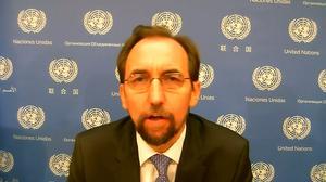Aleppo siege and air strikes are war crimes: U.N. rights boss