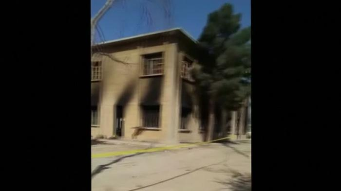 Video footage shows Quetta attack site
