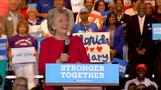 Clinton says debate was 'early birthday present'