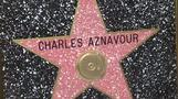 Aznavour gets Hollywood Walk of Fame star