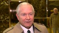 Gates meets with Trump; praises Mattis