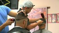 Sounding off about Fidel at Little Havana barbershop