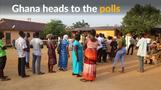 Voting begins in Ghana elections