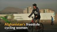 Afghan women push boundaries one wheelie at a time