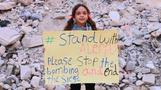 Syrian girl tweets for 'Aleppo's children'