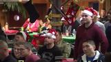 U.S. troops celebrate Christmas with orphans in South Korea
