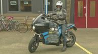 Dutch students STORM around world on self-made electric motorbike