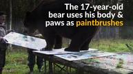 Finnish gallery opens exhibition by Juuso the bear
