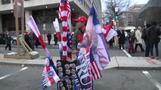 トランプ大統領就任式へ、全米から支持者が首都に集まる(20日)
