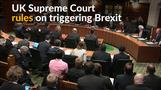 Supreme Court rules for parliament approval to trigger Brexit