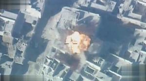 Turkish air strikes target Islamic State in northern Syria