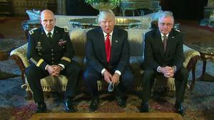 Trump adds McMaster, Kellog to national security team