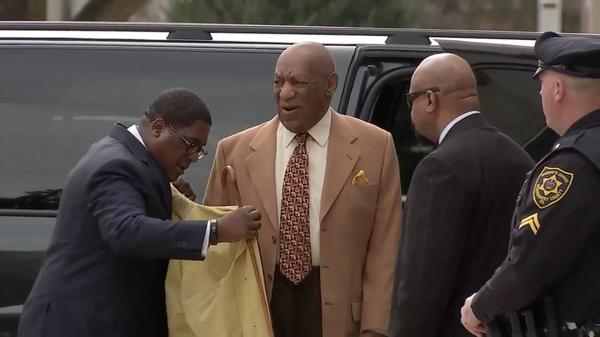 Cosby arrives for change of venue hearing