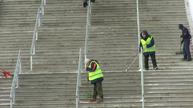 FIFA confident vibrating St Petersburg pitch will be Confederations Cup ready