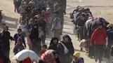Civilians flee as Iraqi forces push deeper into western Mosul