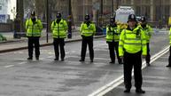 London police hold moment of silence for attack victims
