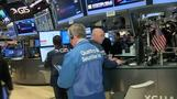 Stocks dip on jobs data, Syria
