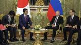President Putin holds talks with Prime Minister Abe in Moscow