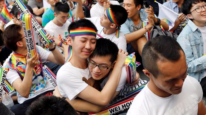 Taiwan same-sex marriage ruling brightens outlook for China