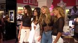 Victoria's Secret Angels present new T-shirt bra