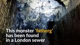 Monster 'fatberg' causes sewage blockage in London