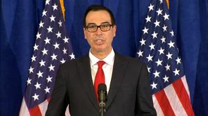 Banks won't be allowed to do business with both U.S. and North Korea: Mnuchin