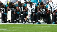 NFL-Trump feud on anthem protests takes over fields across U.S.