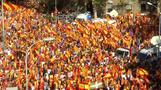 Tens of thousands demonstrate for a united Spain