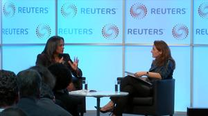 Reuters Newsmaker: Isabel Dos Santos says Angolan President is right to crackdown on corruption.