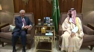 Tillerson pushes for closer ties between Saudi Arabia, Iraq