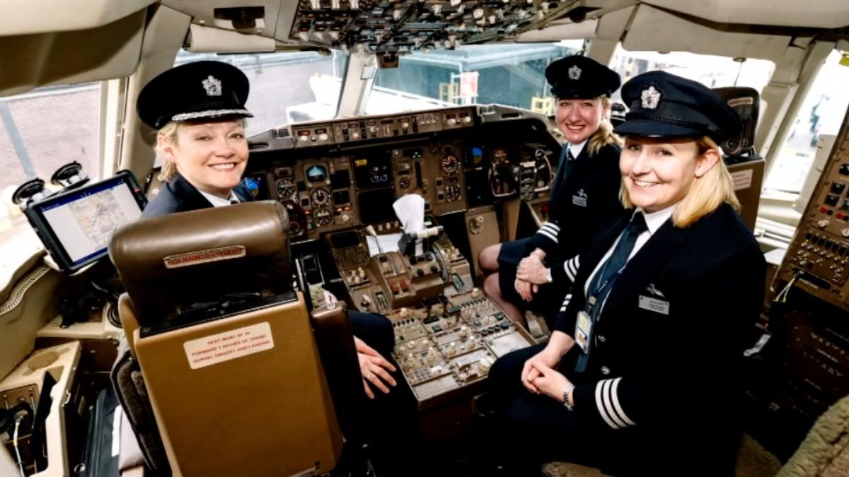 Diversity, bottom line drive push for female pilots