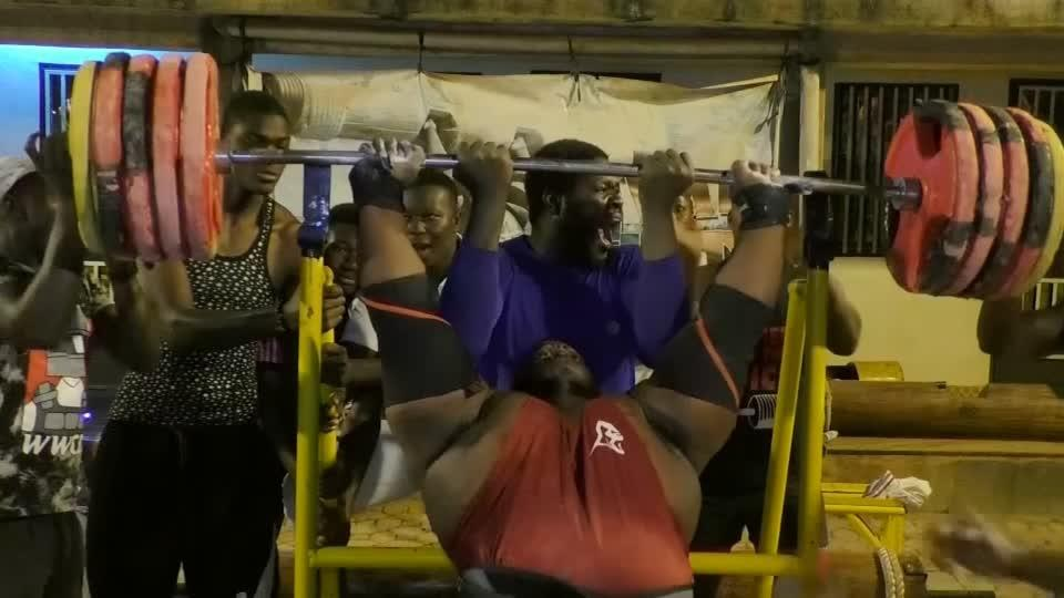 Eight chickens a day can make you Africa's strongest man