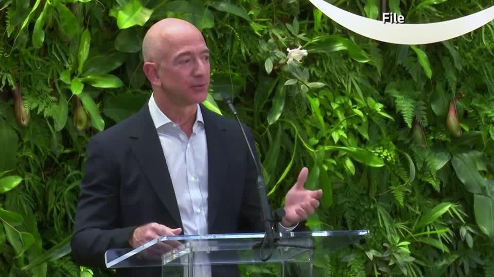 Amazon's Bezos announces new climate fund